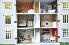 Cool Dollhouse remodel Extreme Home Makeover- Dollhouse Edition