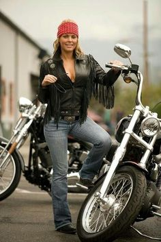 """"""" So Far Over Real Biker Babe, Biker Event, Motorcycle and incredible photos of Professional models posing with bikes of all kinds. If it has two or three wheels it gets. Lady Biker, Biker Girl, Biker Baby, Chicks On Bikes, Tumbrl Girls, Motorbike Girl, Hot Bikes, Biker Chick, Harley Davidson"""