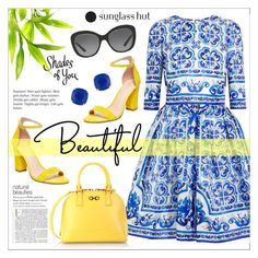 """""""Summer is Coming :)"""" by ms-mandarinka ❤ liked on Polyvore featuring Dolce&Gabbana, Salvatore Ferragamo, Madden Girl, Kate Spade and Ralph Lauren"""