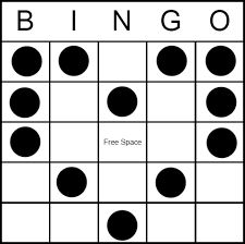 photograph regarding Bingo Patterns Printable identified as 12 Perfect Bingo Layouts visuals inside 2019 Plastic canvas