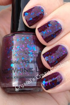 Crystal's Crazy Combos: KBShimmer - No Whine Left