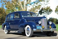 1938 CADILLAC FLEETWOOD LIMO - Barrett-Jackson Auction Company - World's Greatest Collector Car Auctions
