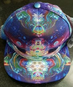BRAND NEW WITH TAGS Graphic Snapback Unisex Hat Buddha Hippie Chakra  Meditation a4a331967d24