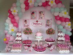 Fiesta tematica de rosita fresita (3) - Tutus para Fiestas Mexico - Disfrases personalizados y moños