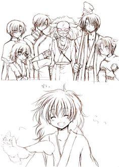 Akatsuki no Yona / Yona of the Dawn manga and anime || fly ao, fly!