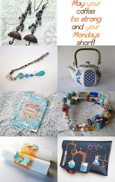 Rainy days   Mondays by Valerie Brown on Etsy--Pinned with TreasuryPin.com