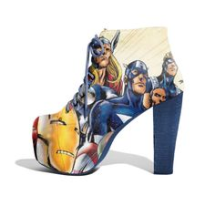 Geeky shoes!  so cool!