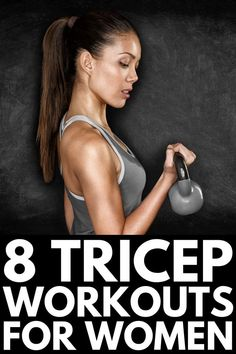 Whether you prefer to workout with weights at the gym, or with no equipment at home, these tricep workouts for women will transform your arms! Dumbbell Workout, Pilates Workout, Boxing Workout, Cycling Workout, Tricep Workout Women, Improve Mental Health, Good Mental Health, Fit Board Workouts, Amigurumi