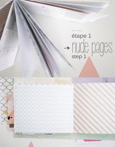 Bohème Circus - Mini-book - étape/step 1