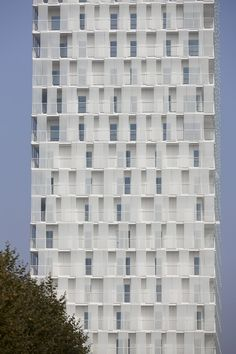 Park Tower, Antwerp, Belgium #Architecture