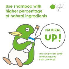Shampoo met het hoogste percentage natuurlijke ingredienten