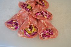 Soppressata Finger Salads- No bake, easy to make, tangy finger foods- perfect for football play-offs!!!