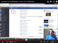 Watch the Video to Learn How to Do Facebook Group Marketing More Effectively… Watch Video, Group, Marketing, Facebook, Learning, Tips, Youtube, Youtube Movies, Teaching