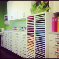 Our Thrifty Ideas: Doodlebug Designs Office tour;  I soooo want to go their and plan in their room.