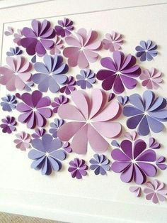 There are so many ways you can use these Paper Flower Wall Art Ideas and we have an easy video tutorial to show you how. There are so many ways you can use these Paper Flower Wall Art Ideas and we have an easy video tutorial to show you how. Paper Flower Wall, Paper Flower Backdrop, Paper Flowers Diy, Flower Crafts, Craft Flowers, Flowers Pics, Paper Wall Art, Flowers Decoration, Origami Paper