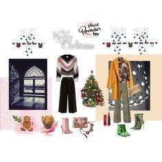 Merry Christmas again by happiestime on Polyvore featuring moda, Loewe, Weekend Max Mara, Philosophy di Lorenzo Serafini, Fendi, Sam Edelman, John Lewis, Max Factor, Mulberry and Wilton