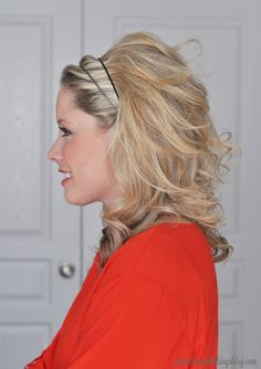The Small Things Blog: Reese Witherspoon Inspired Holiday Hair Tutorial