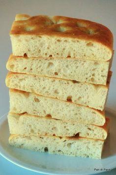 Pan di Pane: Impasto per focaccia o pizza con farro.