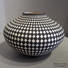 Pottery from the Acoma pueblo by Paula Estevan