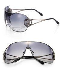 1ce762aff36b Roberto Cavalli Shield 135mm Sunglasses - Lyst Sunglasses Shop