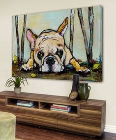 Loving this Smushy Gallery-Wrapped Canvas on #zulily! #zulilyfinds