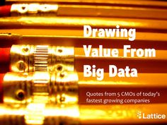Drawing value from big data