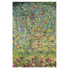 Apple Tree by Gustav Klimt from Joss and Main! Product: Wall art Construction Material: Wood and canvas Artist: Gustav Klimt Color: Multi Features: Ready to hang Austria 1895 Size: H x W x D Gustav Klimt, Klimt Art, Tree Canvas, Canvas Art, Canvas Prints, Canvas Size, Painting Frames, Painting Prints, Art Prints
