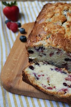 This Triple Berry Bread is bursting with flavor from the fresh raspberries, blueberries and strawberries  and is perfect for everyone in your whole family. Do you ever have those mornings? Where you know it's going to be a long day? Just the other day I was going to make cereal and I pulled out a baby bowl for myself & then poured orange juice in it…not a good start. That's when I wish I could snap my fingers and breakfast be ready. Continue Reading...