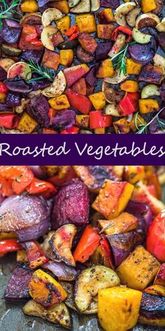 vegetable recipes So perfectly tender, these veggies are packed with flavor and natural sweetness. The best part is, you can use YOUR favorite vegetables in this recipe, to make sure youll enjoy EVERY. Cooktoria for more deliciousness! Healthy Chicken Dinner, Easy Healthy Dinners, Healthy Dinner Recipes, Beet Recipes, Rainbow Carrot Recipes, Turnip Recipes, Recipies, Healthy Thanksgiving Recipes, Paleo Dinner