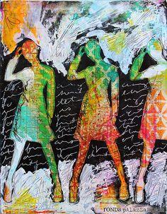 Ronda Palazzari Just Be You Art Journal by HelpMeRonda, via Flickr