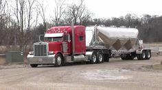 MAC Trailer Pneumatic Tank - YouTube Diesel Cars, Vehicles, Peterbilt Trucks, Semi Trucks, Trailers, Mac, Youtube, Tanks, Hang Tags