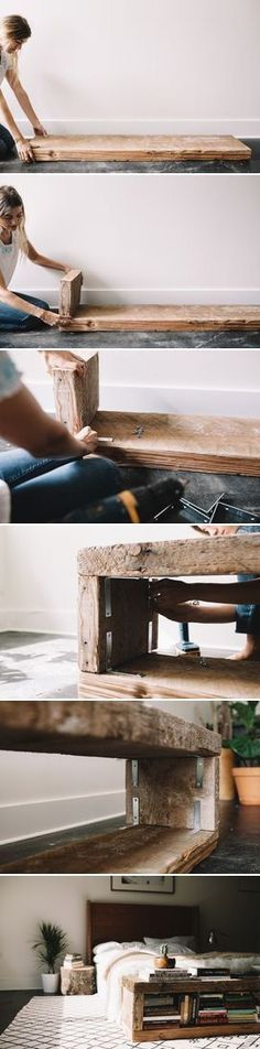 repurposing old wood More