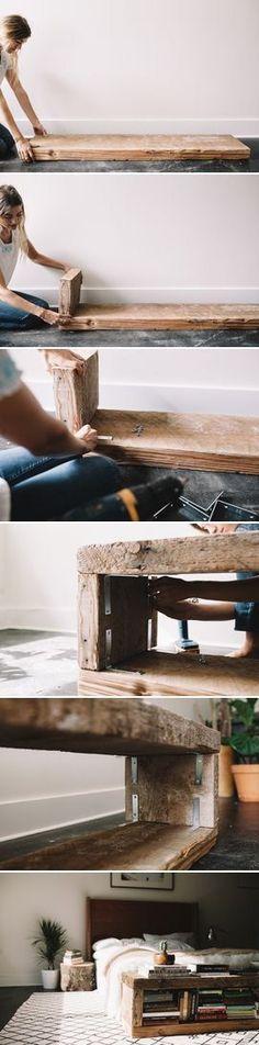 repurposing old wood More