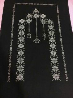 Piercings, Crewel Embroidery, Diy And Crafts, Cross Stitch, Deco, Antiques, Pattern, Handmade, Jewelry