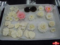 Tổng hợp 10 kỹ thuật cạo socola các loại hoa (hồng, cúc, cẩm chướng), đi...