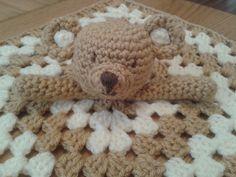 Ravelry: Teddy Bear Baby Security Blanket Lovey Comforter Blankie Toy Easy Crochet Pattern pattern by Peach. Unicorn