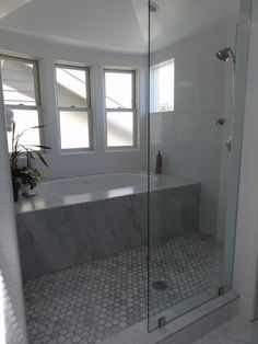 enclosed tub and shower combo. Tub Shower Combo Design  Pictures Remodel Decor And Ideas Page 36 New Series Trending Tuesdays Half Walls Tubs Glass Doors
