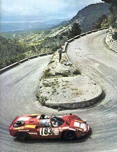 Porsche 906 (at Targa Florio, I think)