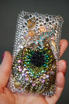 Peacock phone cover
