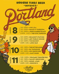 mybeerbuzz.com - Bringing Good Beers & Good People Together...: Modern Times Coming To Portland, Dymaxion & Mexico...