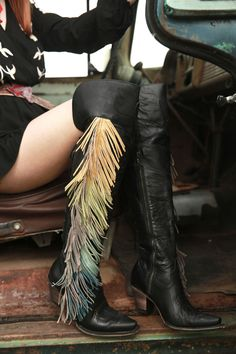 Junk gypsy spirit animal boots