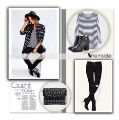 """""""Sheinside"""" by water-polo ❤ liked on Polyvore featuring мода, Sheinside и polyvoreeditorial"""