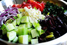 mmmm greek salad