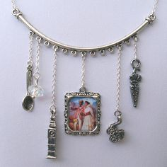Mary Poppins Necklace - A Spoonful of Sugar. $27.00.  Aaaaw!