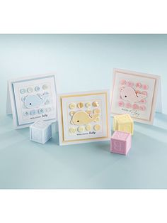 Paper Crafting - Card Patterns - Baby Card Patterns - Welcome, Baby!