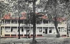 Ohio Postcard 1910 MENTOR Holiday House Hotel Porch