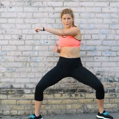 A barre and HIIT (high intensity interval training) fusion, 30-minute workout for the modern day, busy woman.