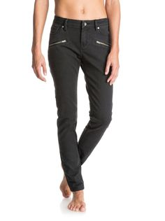 roxy, For Cassidy Skinny Jeans, TRUE BLACK (kvj0)