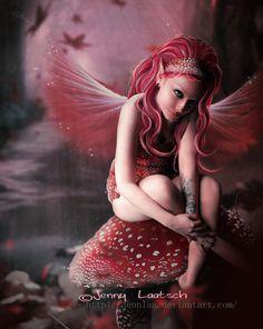 Fall Mushroom Fairy