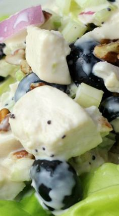 Blueberry Pecan Chicken Salad
